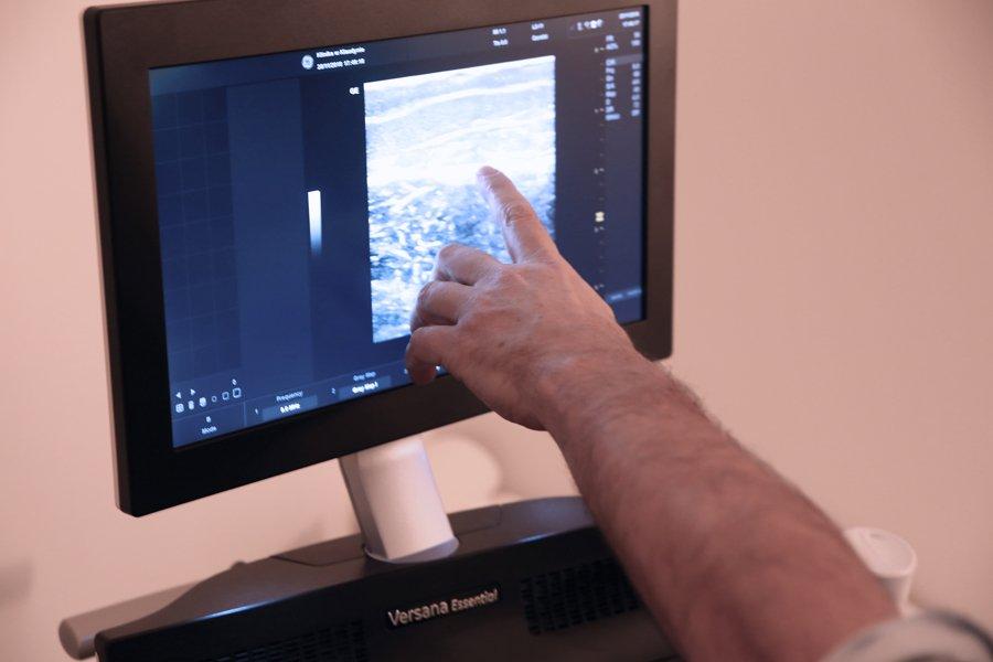 badanie USG tarczycy, jamy brzusznej orazwęzłów chłonnych - Klinika wKlaudynie